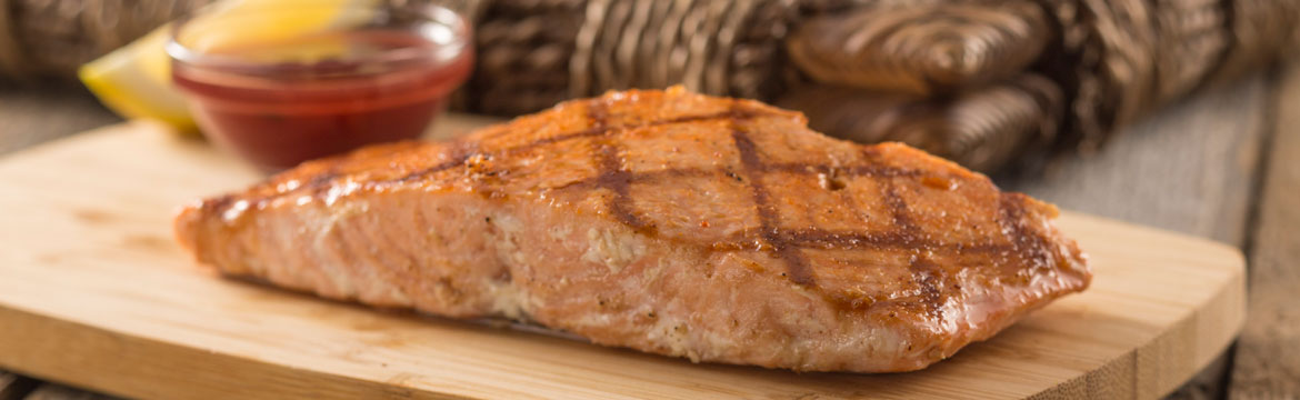 Mesquite Grilled Salmon