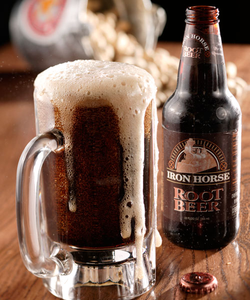 Iron Horse Root Beer (Bottled)