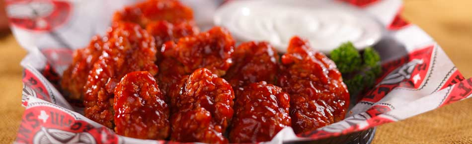 Boneless Honey Barbeque Wings